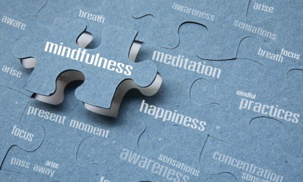 Mindfulness Meditation puzzle pieces