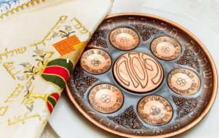 Pandemic Passover Seder Plate